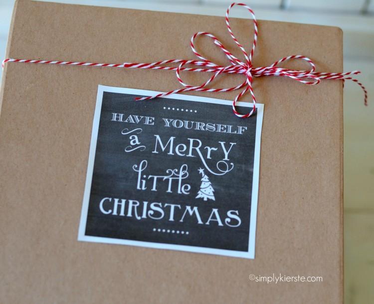 christmas chalkboard gift tags | oldsaltfarm.com