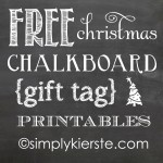 {christmas chalkboard gift tag printables}