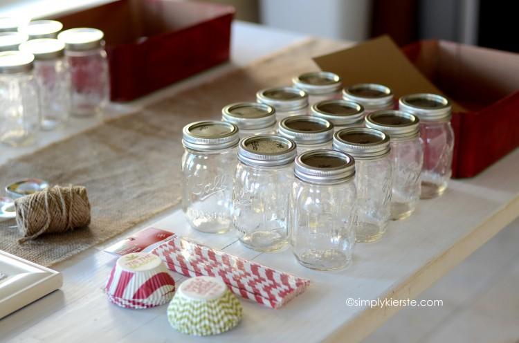 christmas mason jar gift set | simplykierste.com