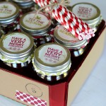 {christmas mason jar gift set}