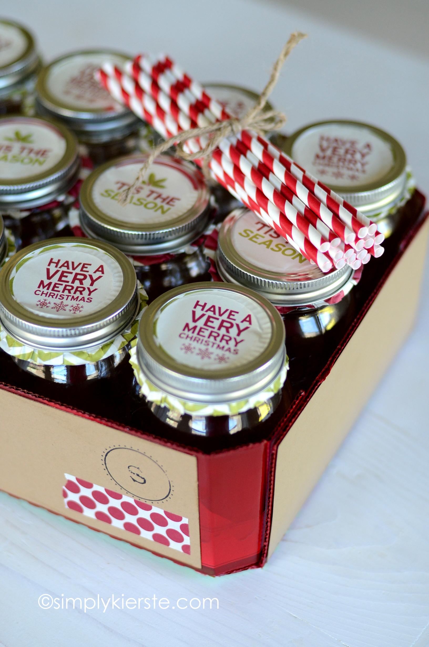Christmas Mason Jar Gift Set