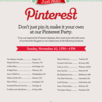 {you're invited to a michael's pinterest party!!!}