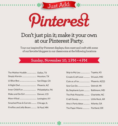 michaels pinterest invite | simplykierste.com