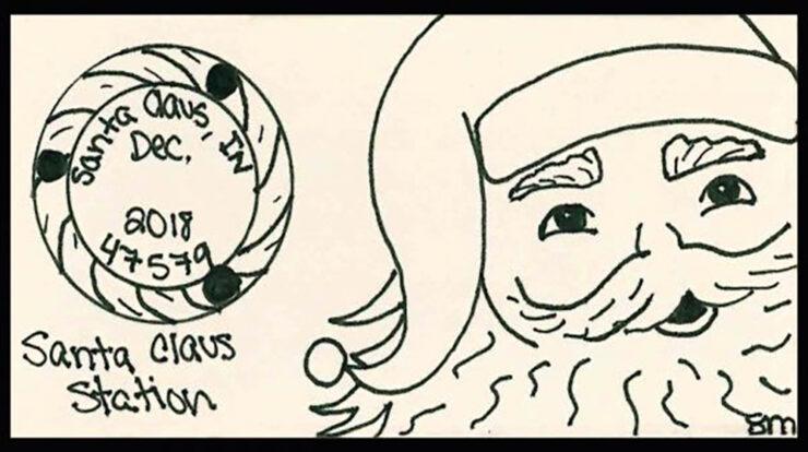 Holiday Postmark