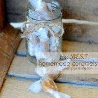 The Best Homemade Caramels