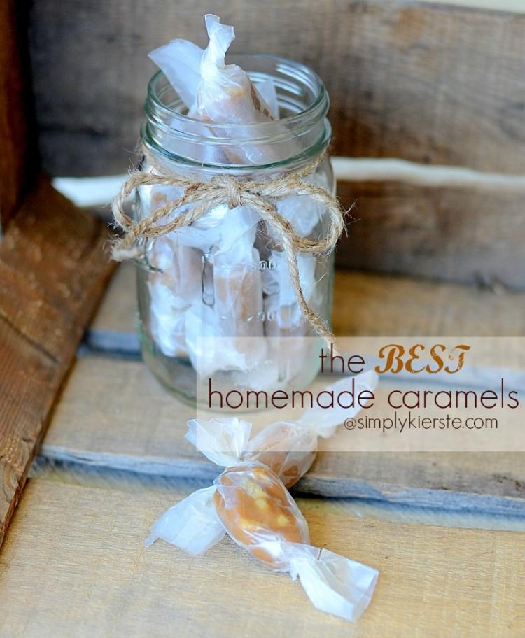 The Best Homemade Caramels | oldsaltfarm.com
