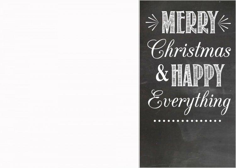 christmas card template   simplykierste.com