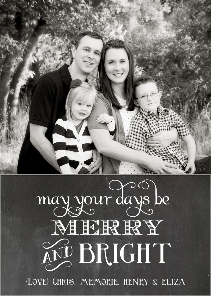free photo christmas card templates - free chalkboard christmas card templates