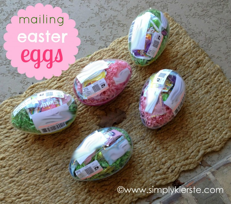 Mailing Easter Eggs | simplykierste.com