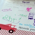 A Trip to the Fire Station: Saying Thank You {FREE PRINTABLES}