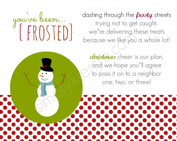you've been frosted | oldsaltfarm.com