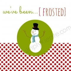 you've been frosted | simplykierste.com