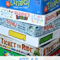 Favorite Family Games: ages 4-8