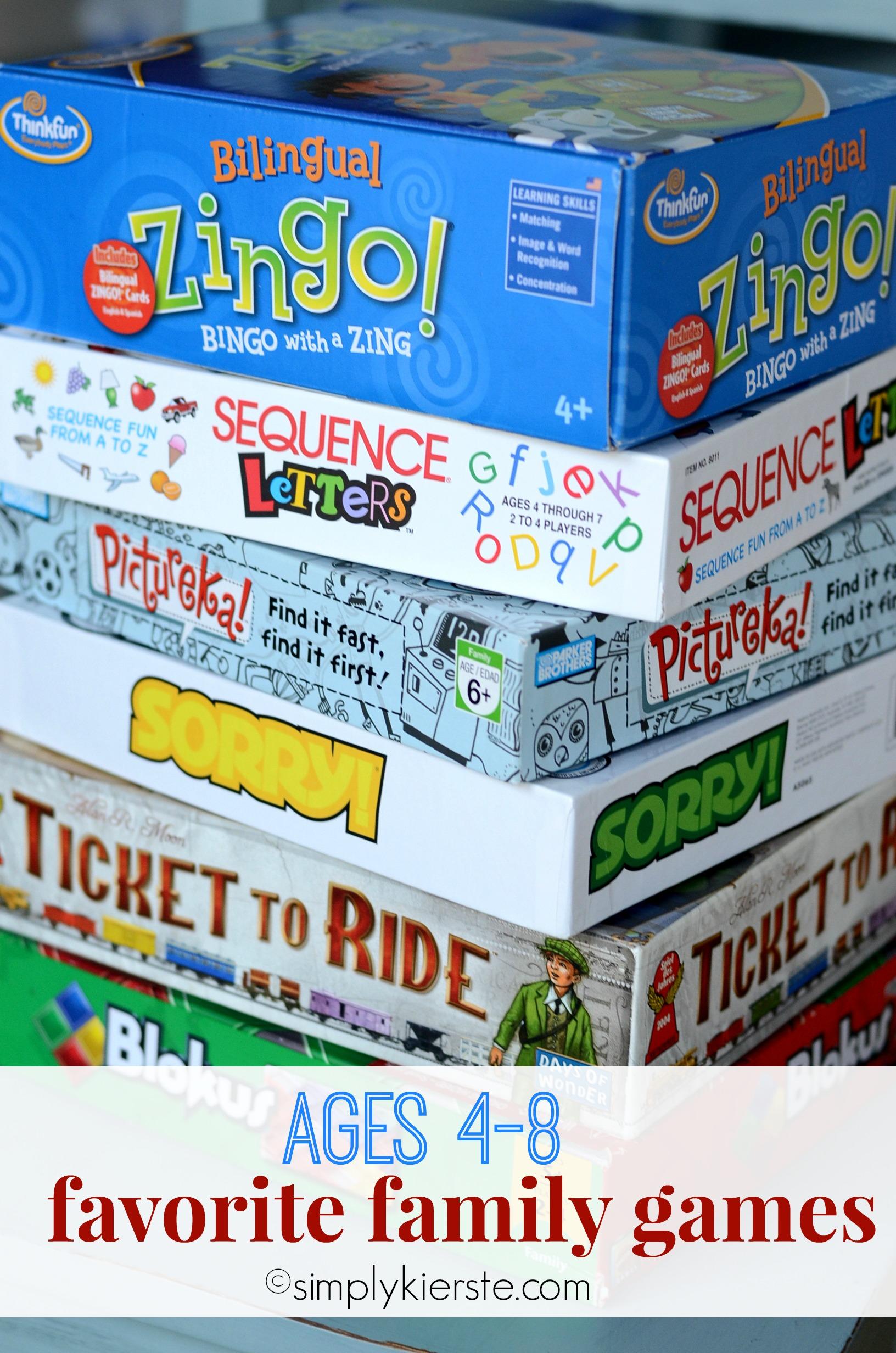 favorite family games | simplykierste.com
