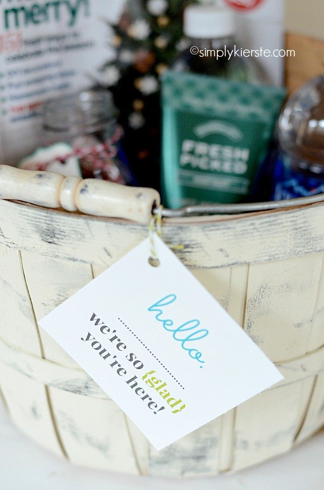 guest welcome basket | simplykierste.com