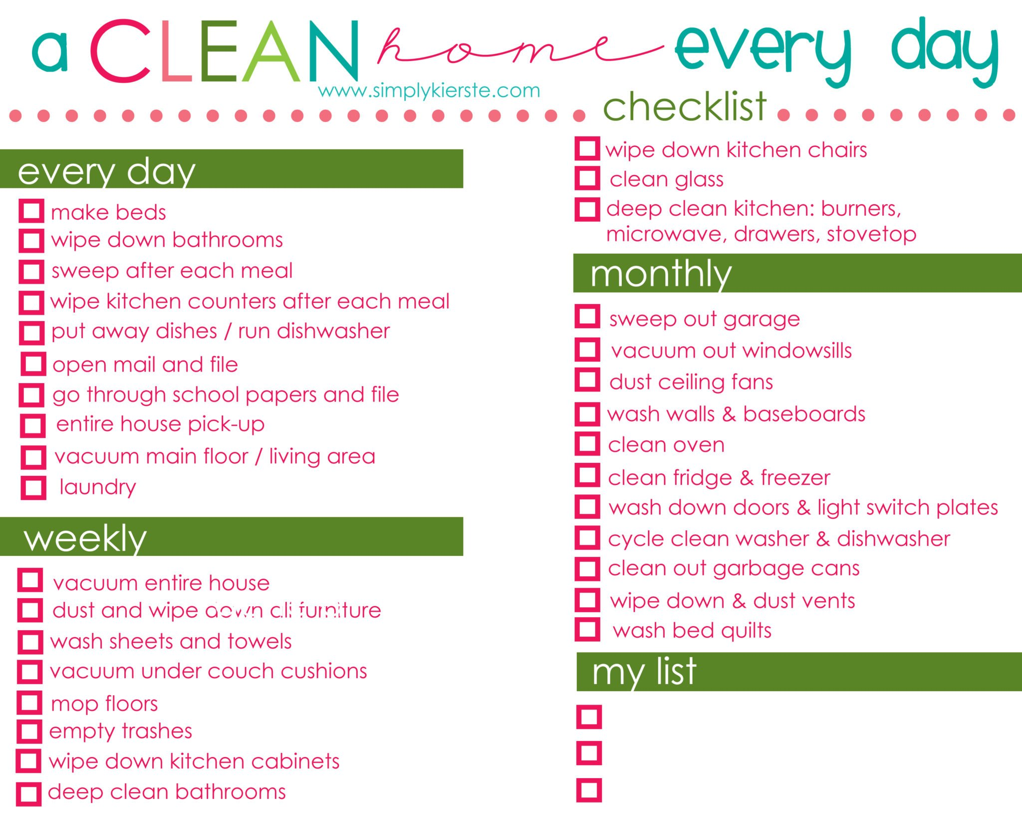 how to have a clean home every day | oldsaltfarm.com #cleaningtips #cleaningschedule #cleaningideas #cleaningmethod