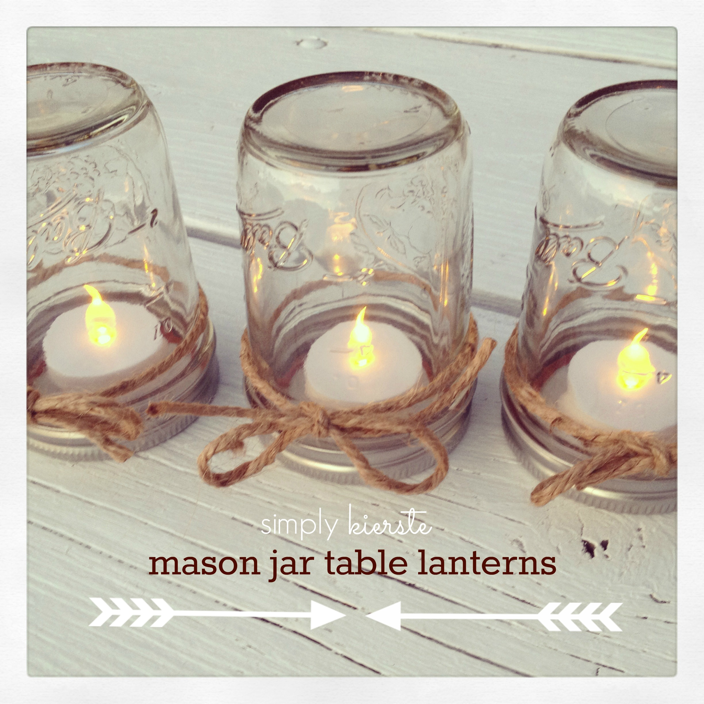 Wedding Decorations Using Mason Jars: {simply Kierste's Top 10 Of 2013 + A A New Year's Blog Hop