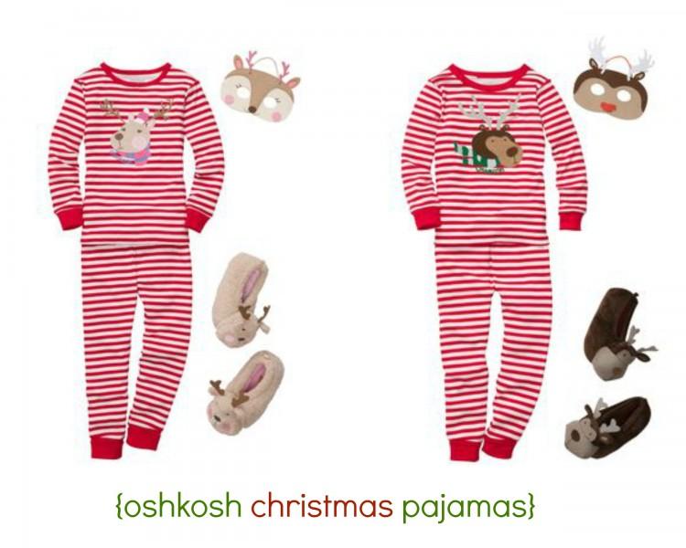 oshkosh pajamas | simplykierste.com