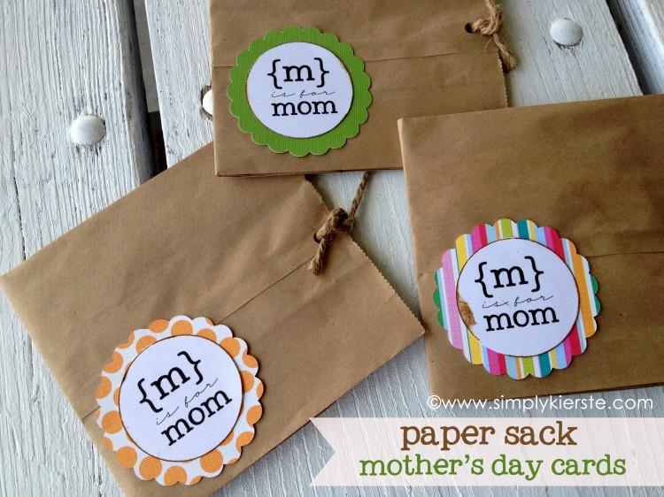 Paper Sack Mother's Day Card | a Child Q&A | oldsaltfarm.com