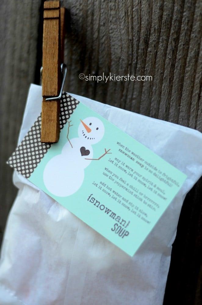 snowman soup | oldsaltfarm.com