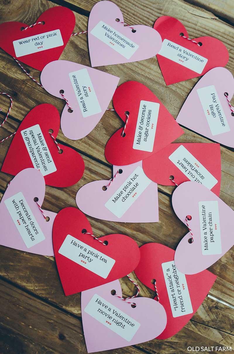 Valentine's Day Countdown: 14 Fun Family Activities