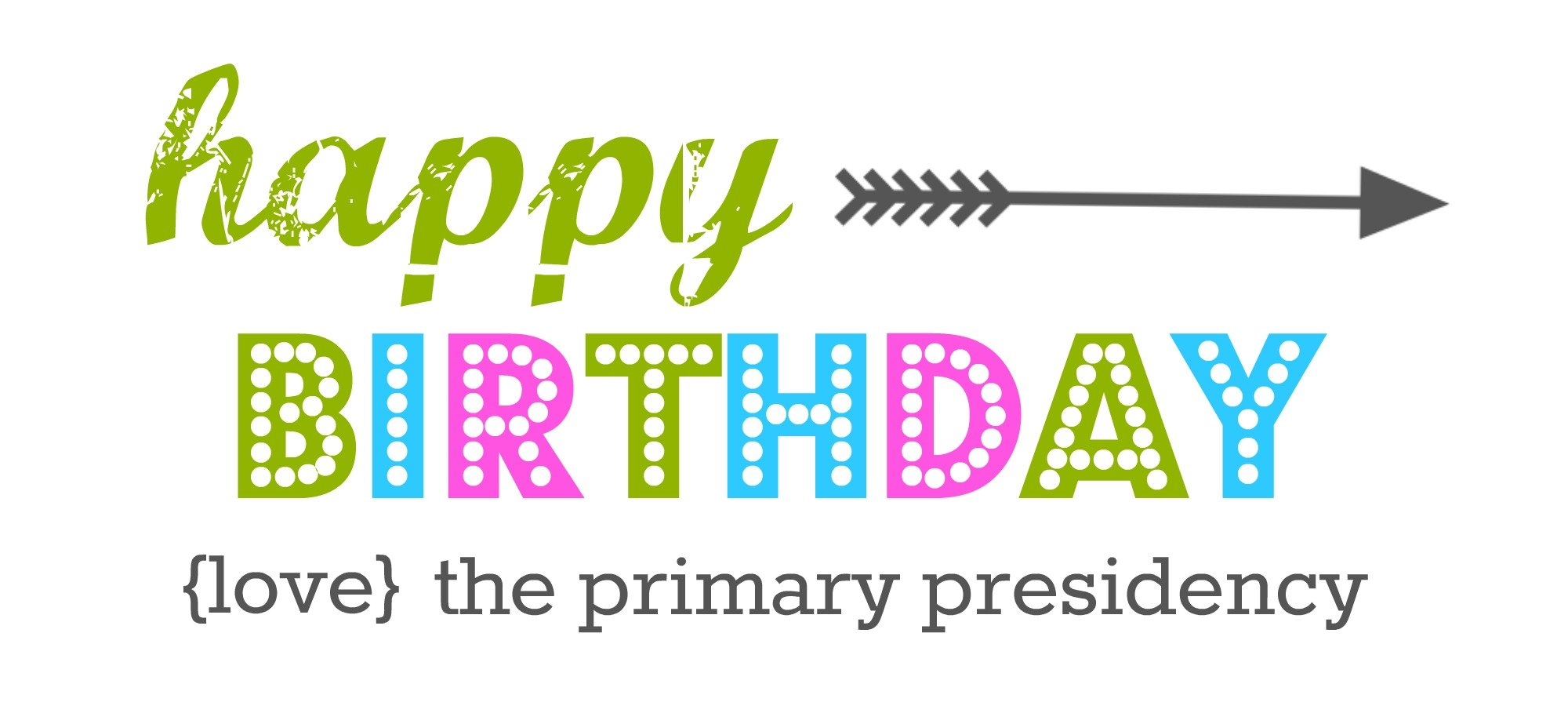 LDS Primary Birthday Tags |FREE PRINTABLE | simplykierste.com