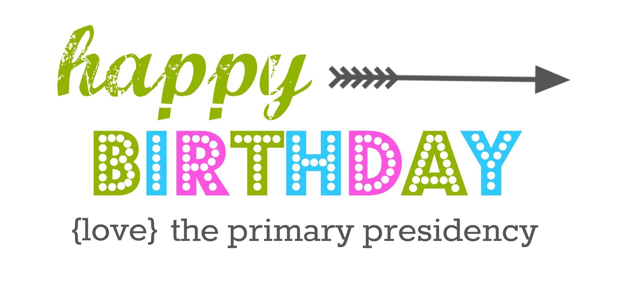 LDS Primary Birthday Tags |FREE PRINTABLE | simplykierste.com