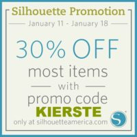 {silhouette stock-up sale!}