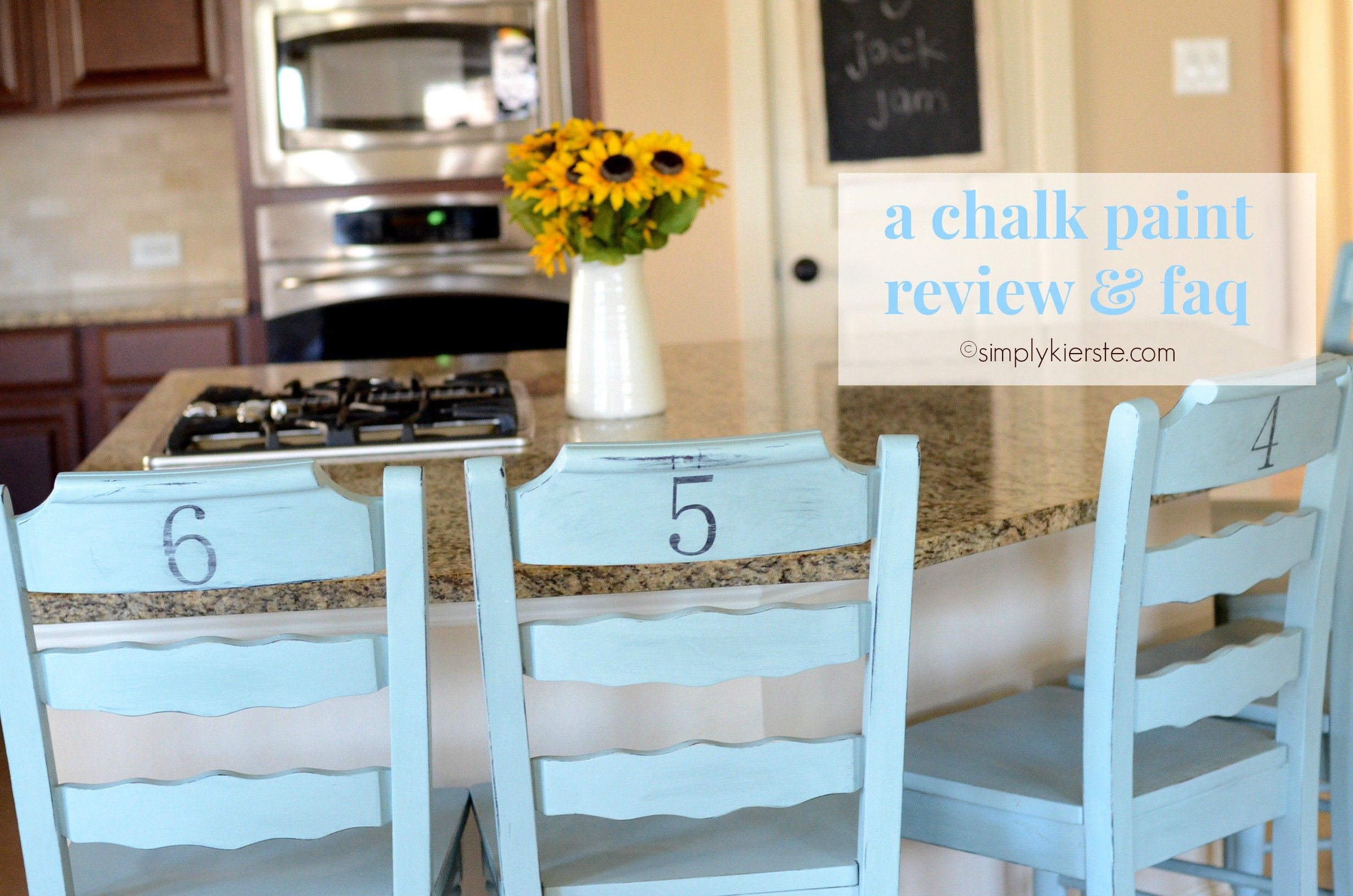 A Chalk Paint Review & FAQ | simplykierste.com