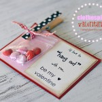 {clothespin valentine}  FREE PRINTABLE!