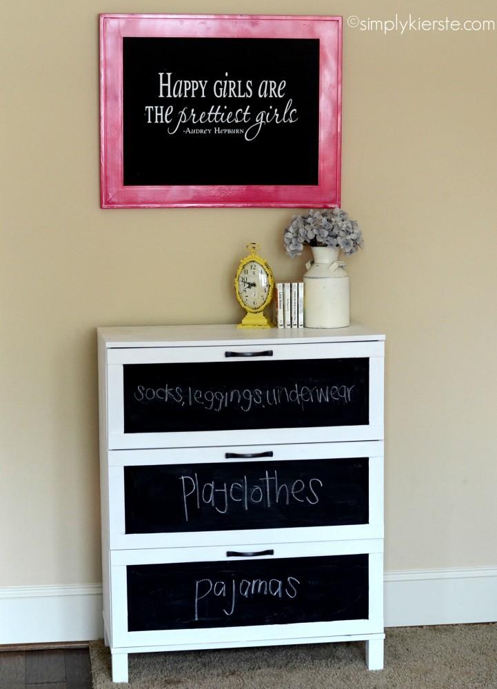 laminate dresser makeover | simplykierste.com
