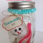 {craft for kids: no-melt snowman in-a-jar}