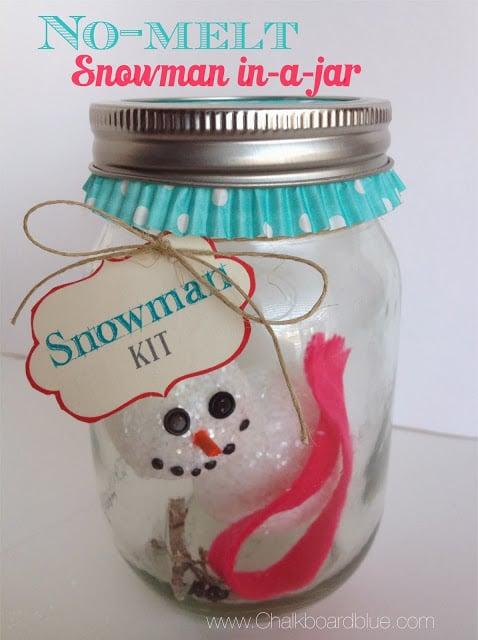 snowman in a jar | simplykierste.com