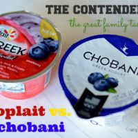 {take the yoplait greek yogurt taste-off:  yoplait vs. chobani}