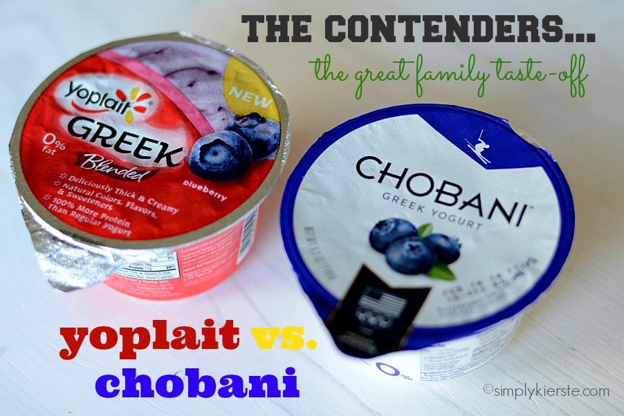 {take the yoplait greek yogurt taste-off:  yoplait vs. chobani}