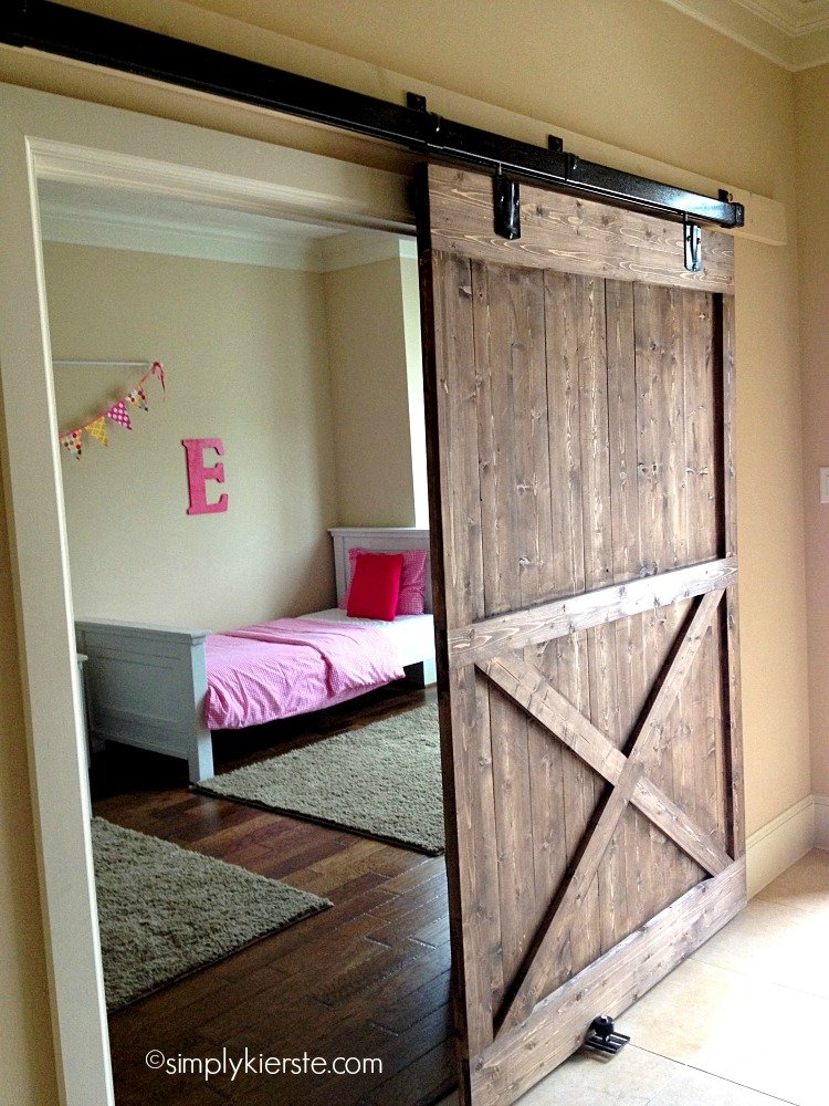 Installing a sliding barn door how easy is it - How to install an exterior sliding barn door ...