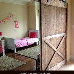 Installing a Sliding Barn Door…How Easy is it?