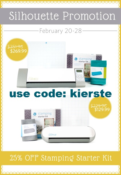 Silhouette February Promo…Bundles and Stamps!!!