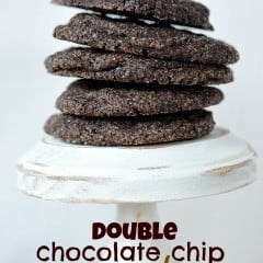 Double Chocolate Chip Cookies | simplykierste.com