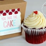 {you take the cake valentine gift idea}