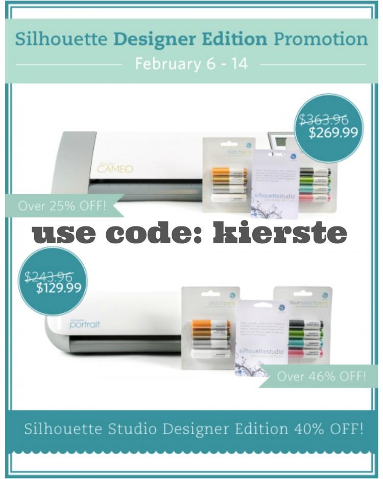 silhouette promo | simplykierste.com