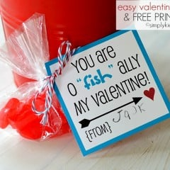 "easy valentine idea | o""fish""ally 