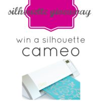{february silhouette promo & CAMEO GIVEAWAY!!!!}
