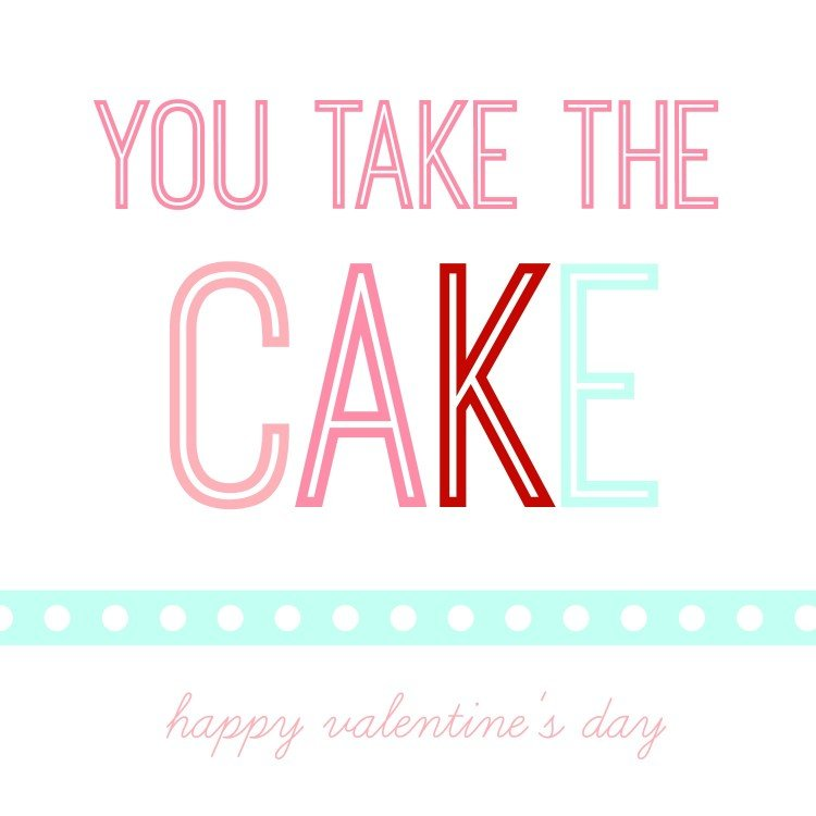 take the cake valentine | simplykierste.com