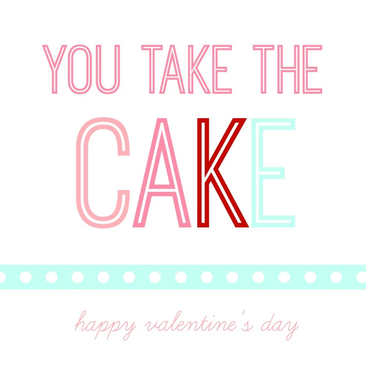 take the cake valentine | oldsaltfarm.com