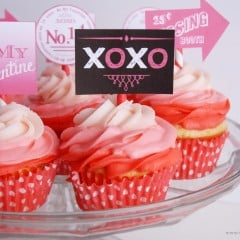 valentine's day cupcake toppers | simplykierste.com