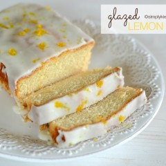 Glazed Lemon Bread | simplykierste.com