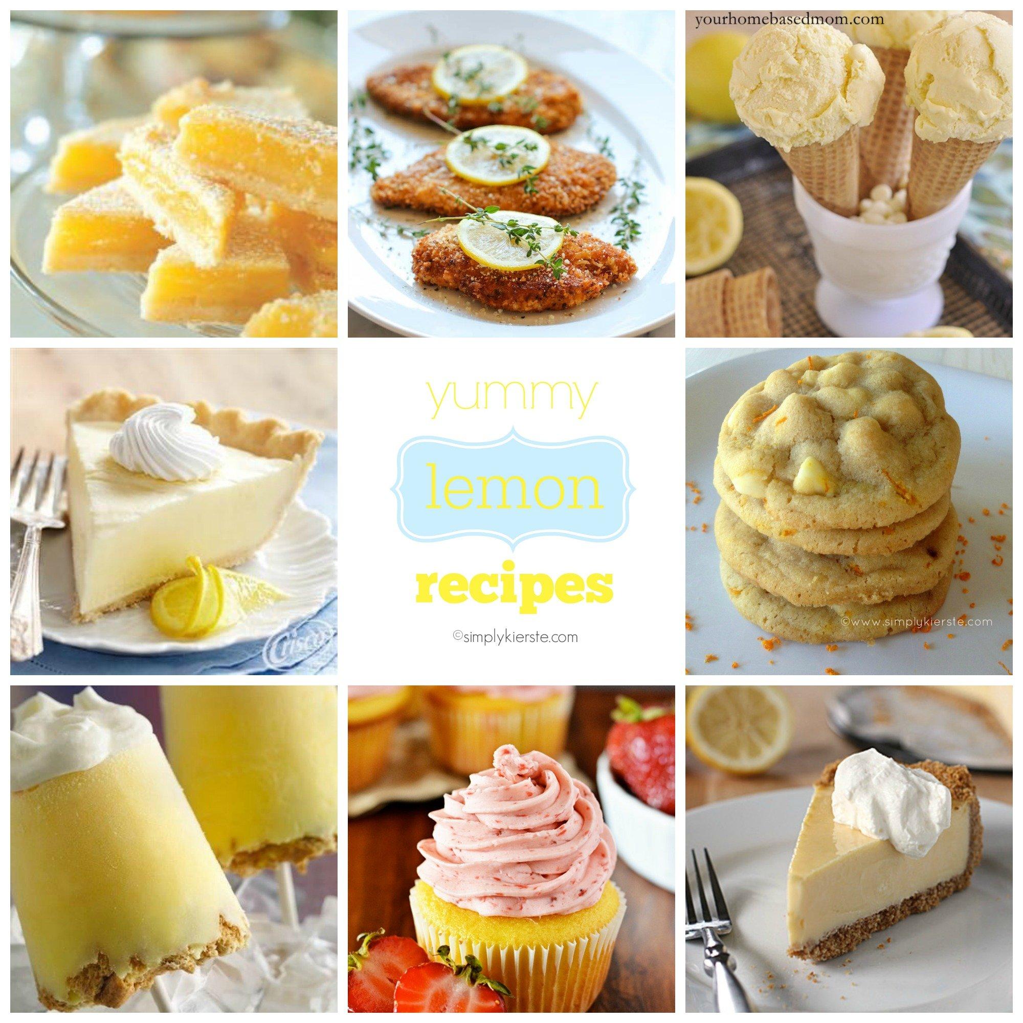 Yummy Lemon Recipes
