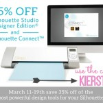 35% OFF SILHOUETTE DESIGNER SOFTWARE