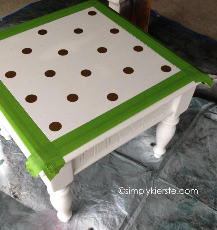 Play Kitchen Table...From Drab to Fab | oldsaltfarm.com